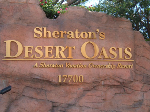 View details: Sheratons Desert Oasis